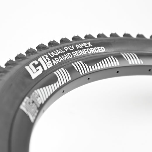 "Semi-Slick 2.35"" Downhill Tires"