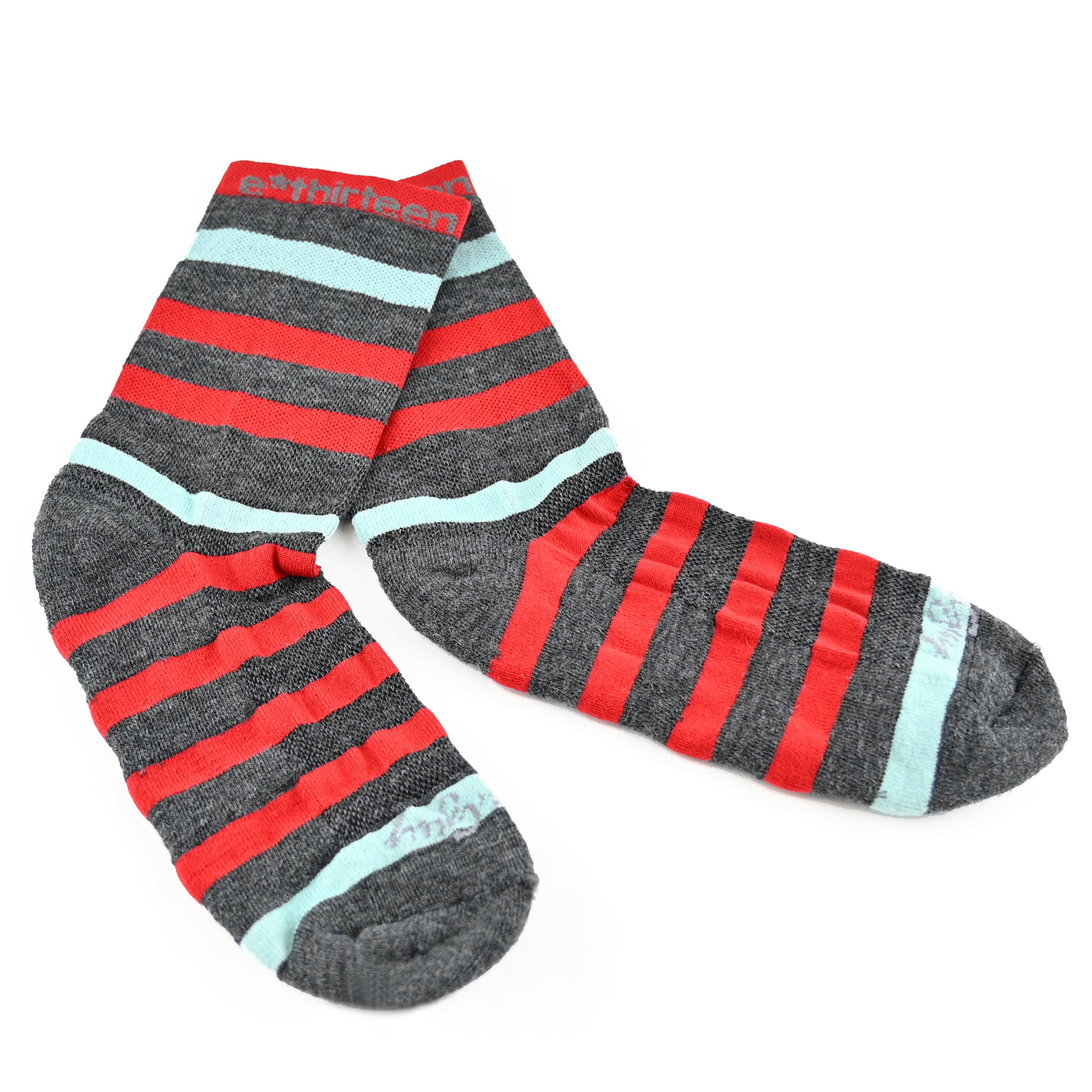 e*thirteen Stripe Socks