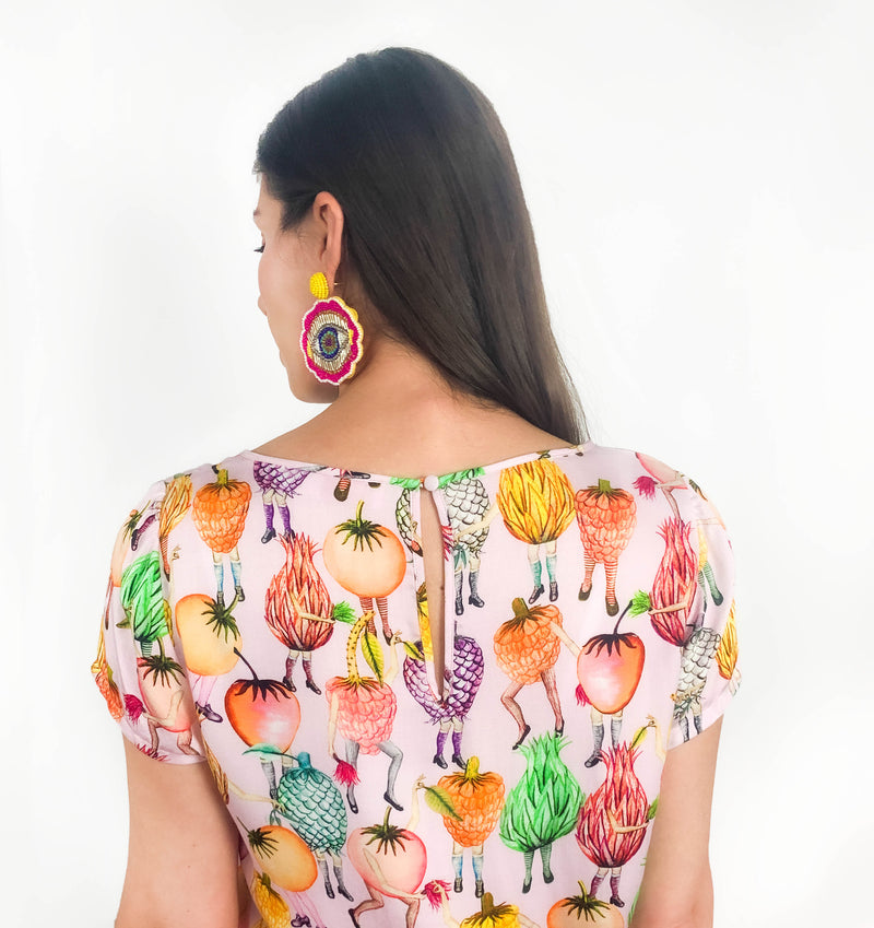 Festival of Fruit Top - Strebor Clothing