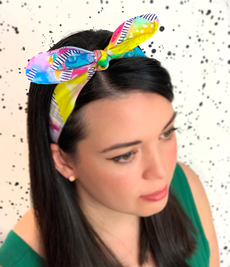 Rainbows and Ladders Headband - Strebor Clothing