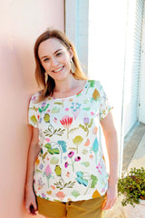 protea top - colourful fashion brand