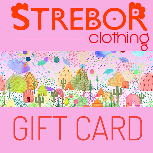 gift cards / strebor clothing