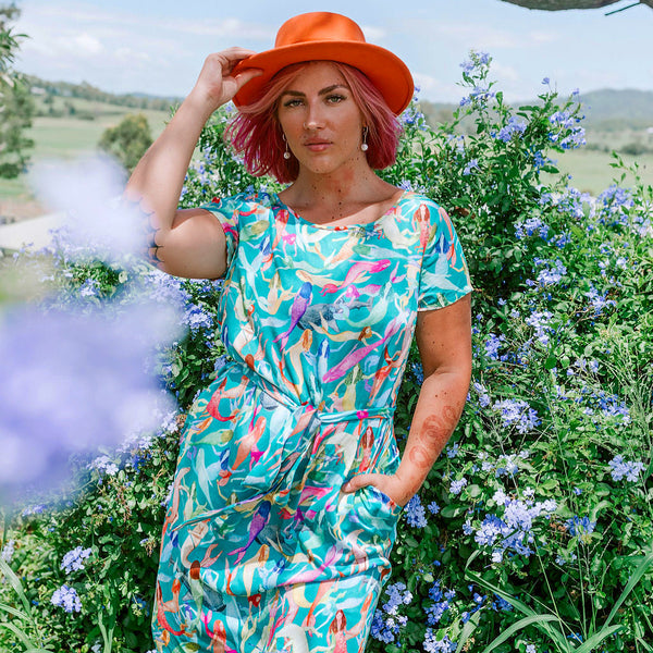 colourful design wear / quirky dresses / dresses with pockets / clothes like gorman but better