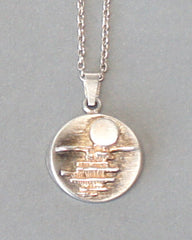 Salovaara Silver Moonlight Pendant