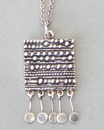 Jorma Laine Kinetic Silver Necklace