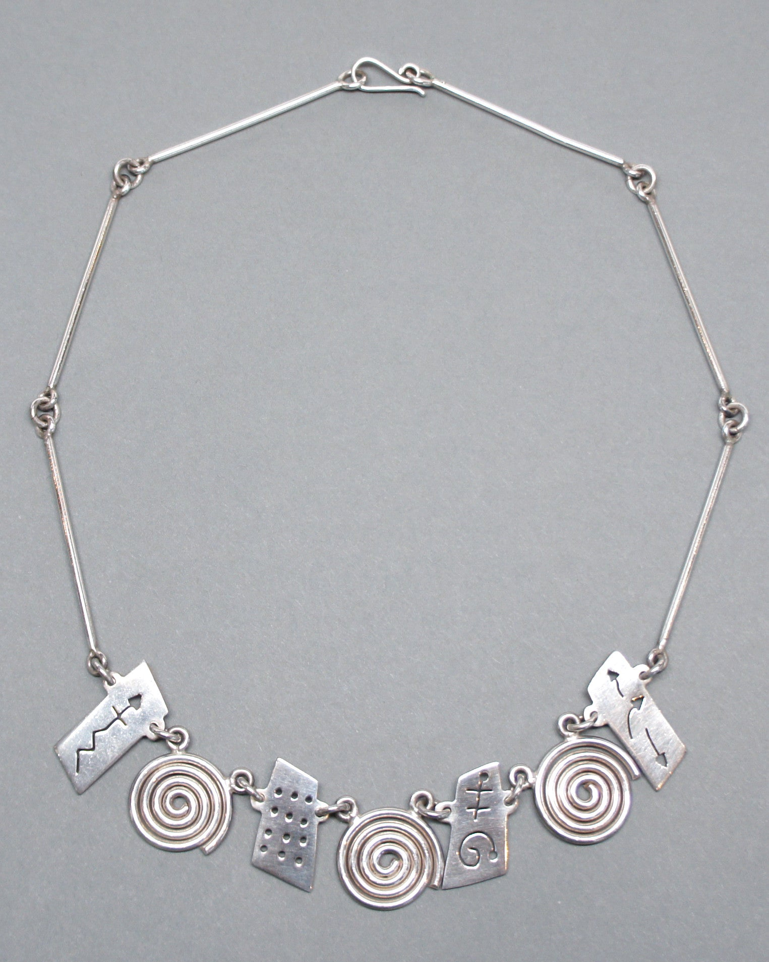 Mexican Taxco Sterling Necklace