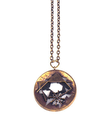 Karl Laine Bronze Necklace