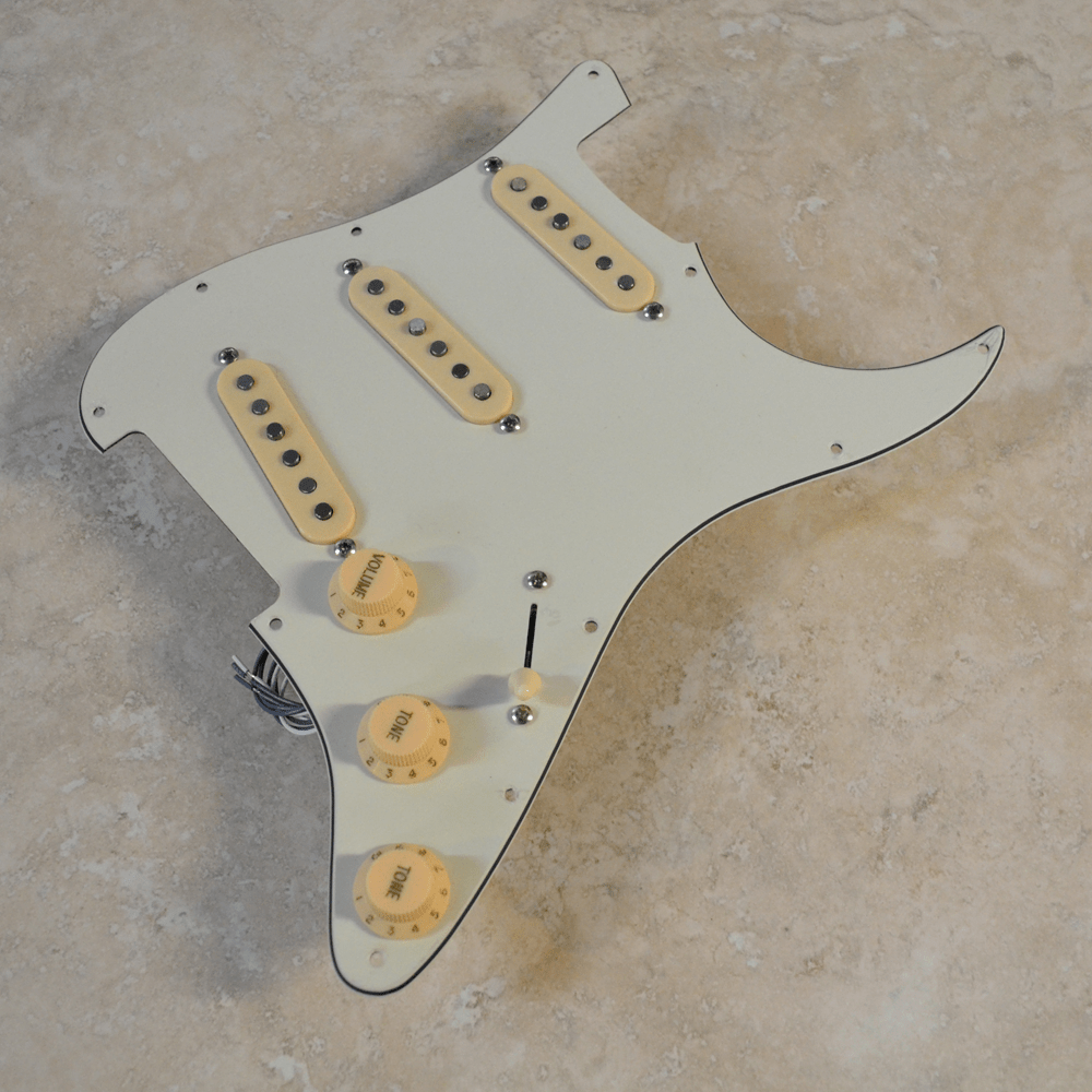 Planet Tone SSS Custom Loaded Pickguard Design Center