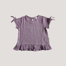 Load image into Gallery viewer, Ariel Frill Tee - Lilac