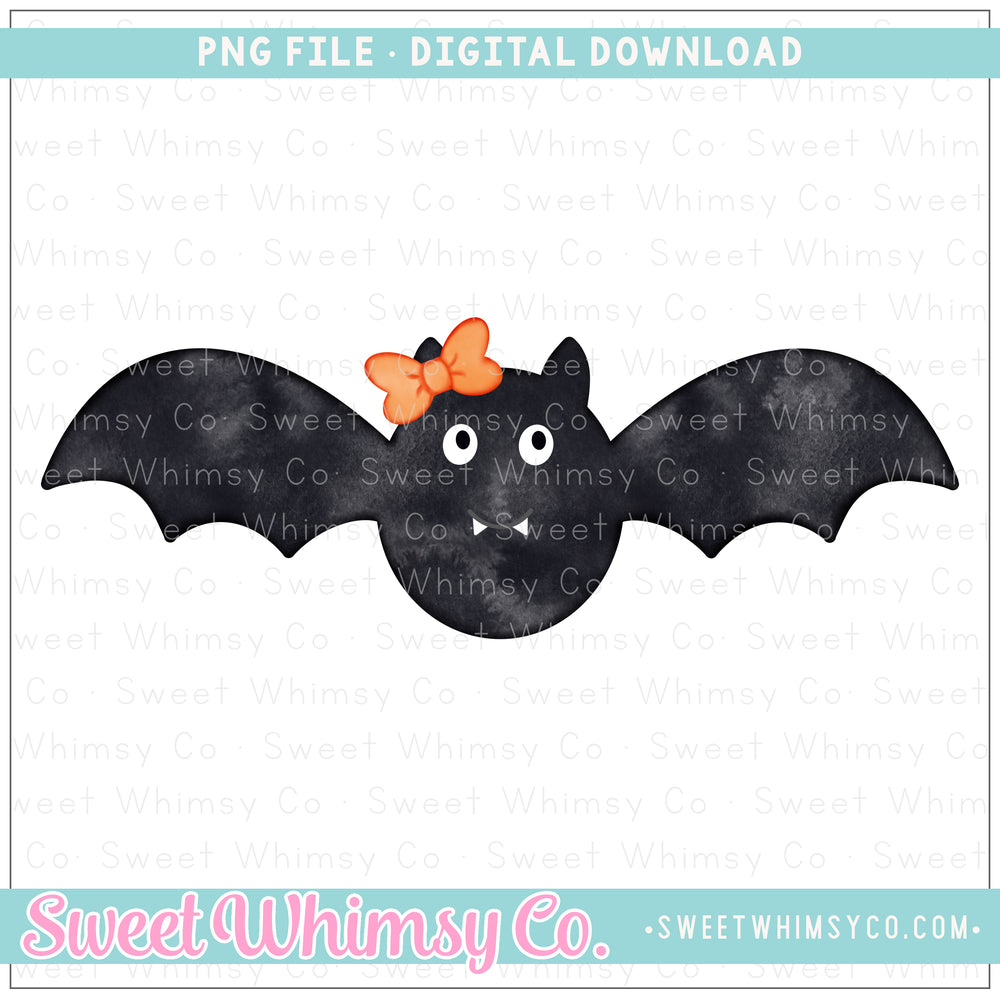 Bat Girl PNG Design