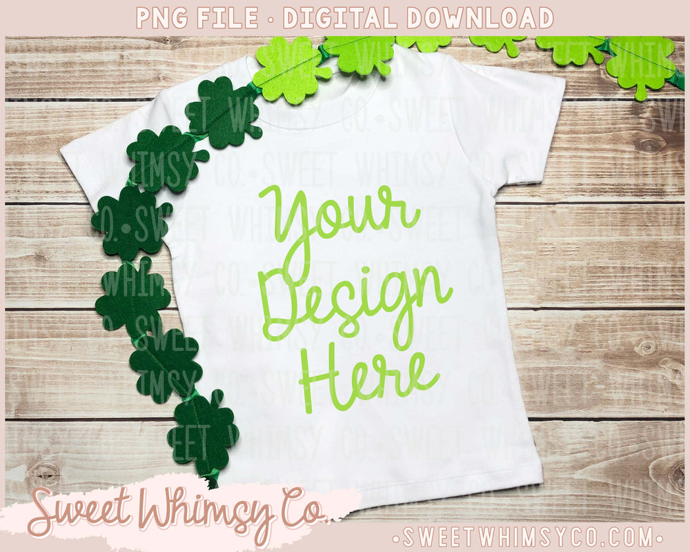 Clover Short Sleeve Shirt Mock Up