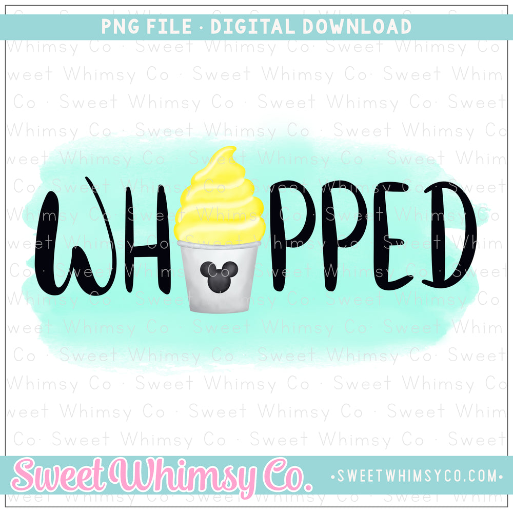 Whipped PNG Design
