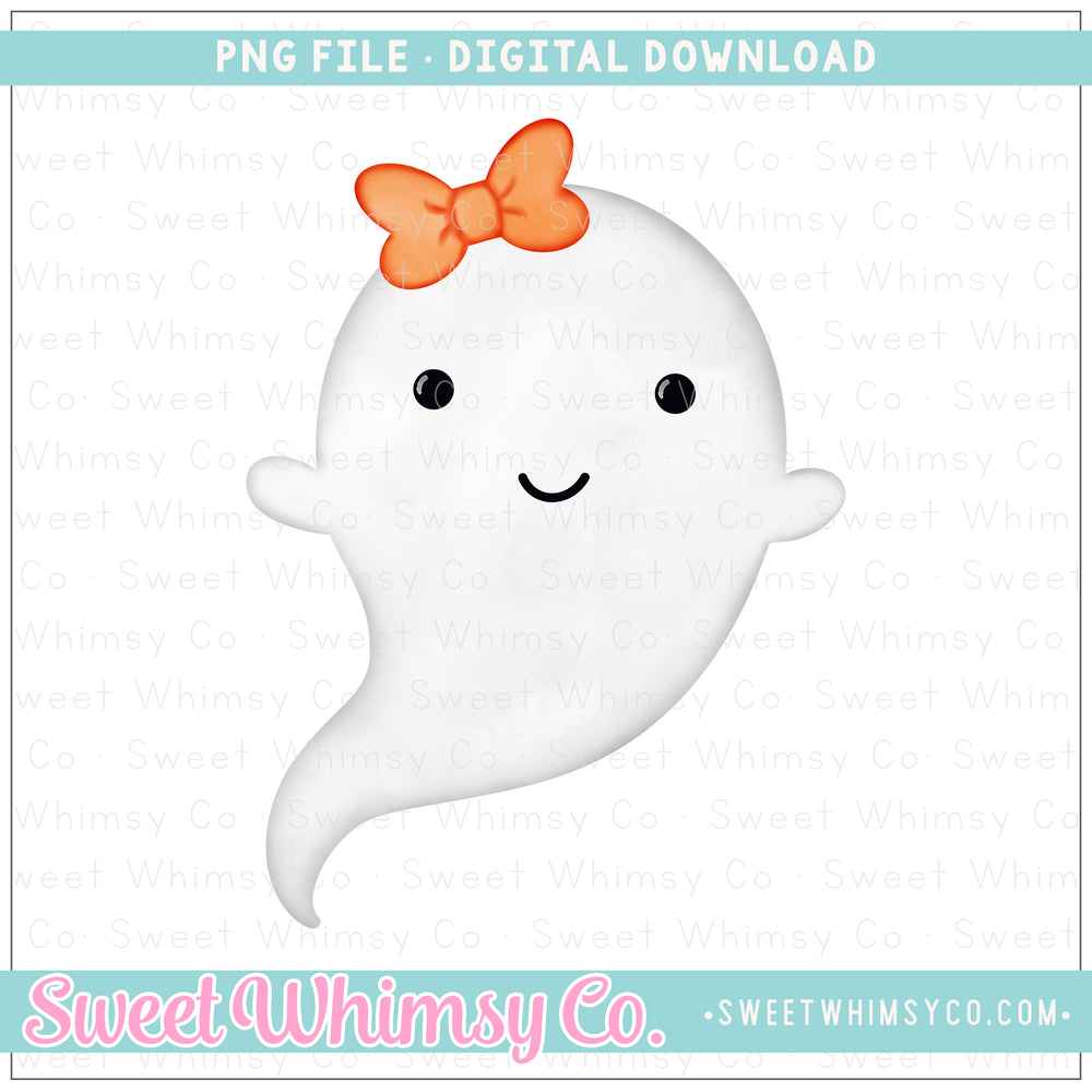 Ghost Girl PNG Design