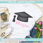 Graduation Hat PNG Design