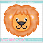 Lion Boy PNG Design