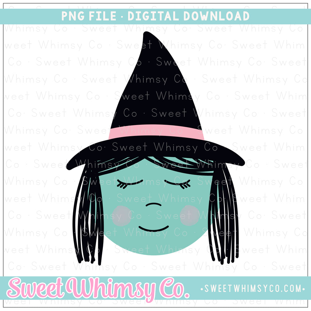 Little Witch PNG Design