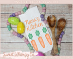 Pastel Dots Dish Towel Mock Up