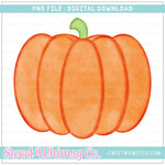 Watercolor Pumpkin PNG Design