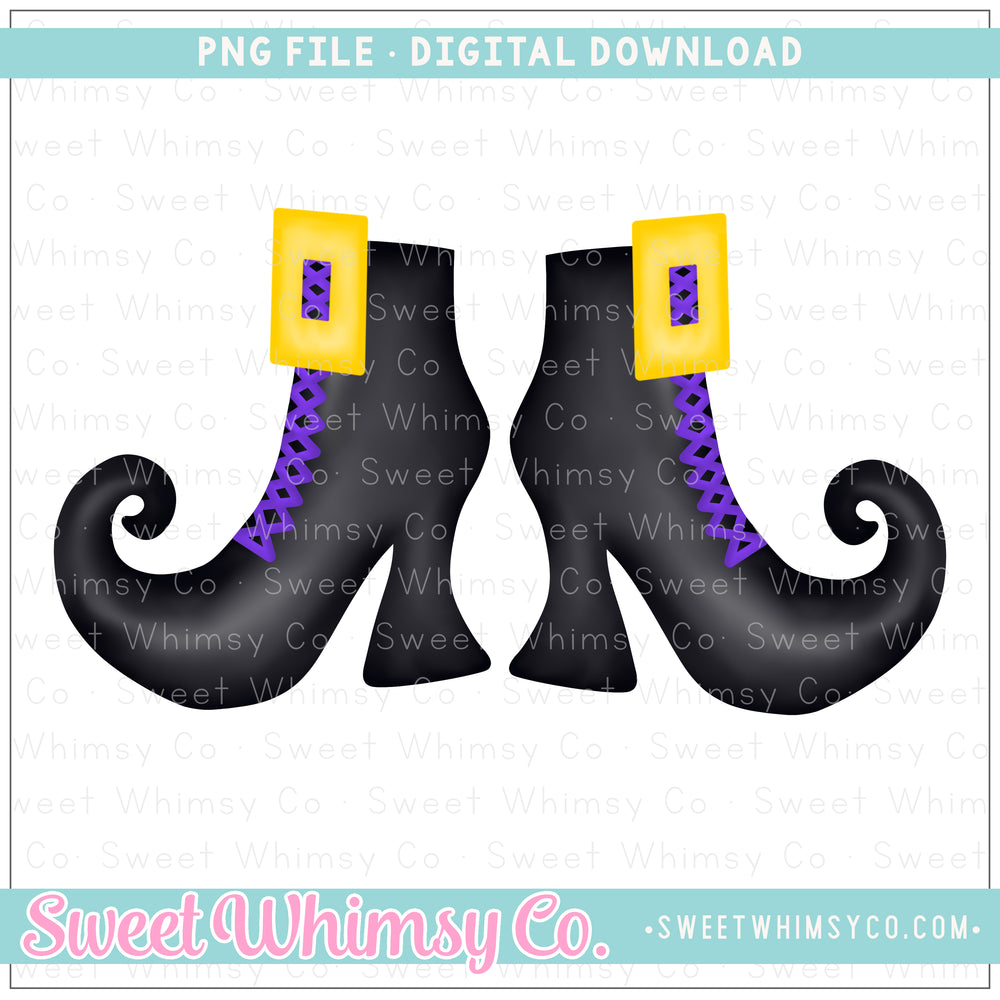 Witch Shoes PNG Design