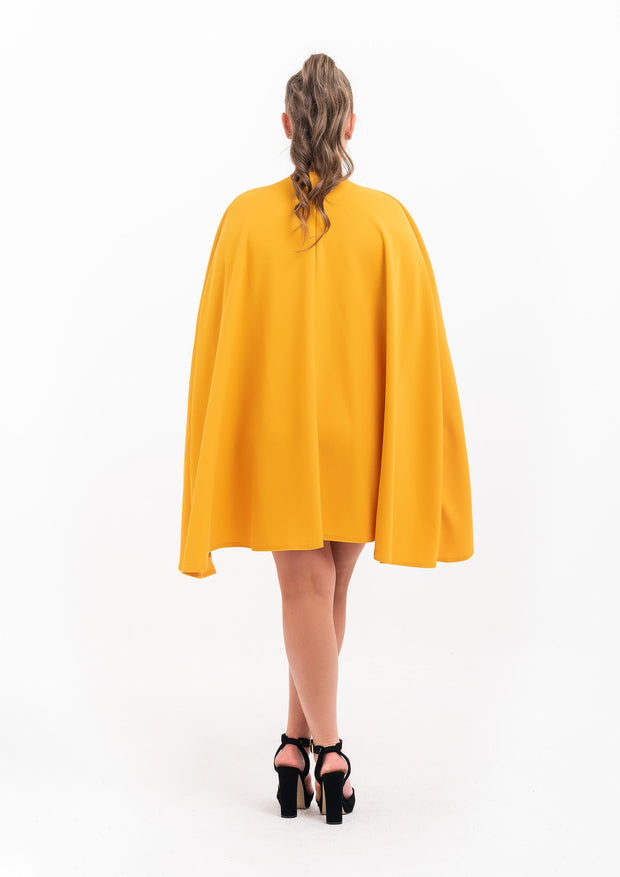 Cape Body Con Dress