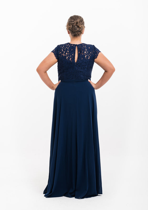 Navy Formal Gown