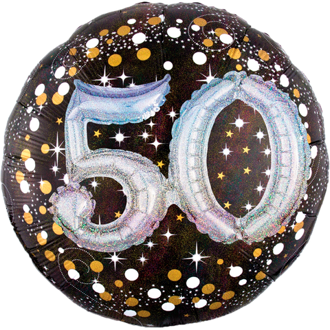 Sparkling Birthday 50