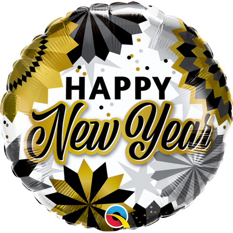 New Year Black & Gold Fans