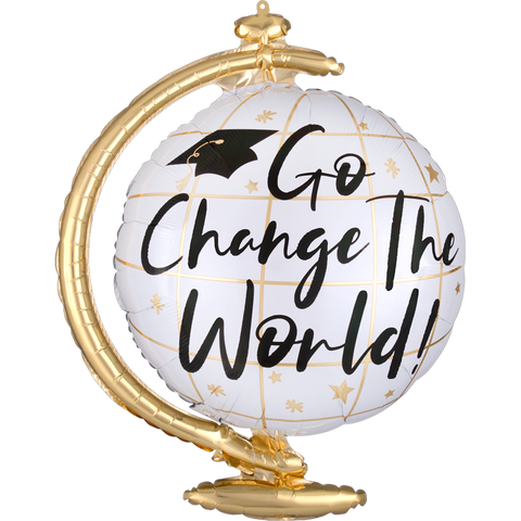 Go Change The World Globe