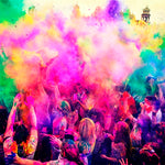 Color smoke confetti
