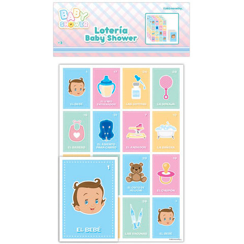 Lotería Baby Shower