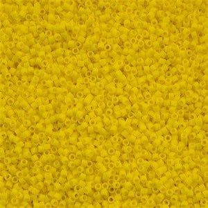 DB1582 Miyuki Delica Seed Bead 11/0 Matte Canary