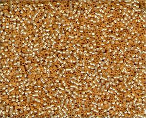 DB0621, Miyuki Delica Seed Beads, 11/0 Size, Butterscotch Transparent Opal