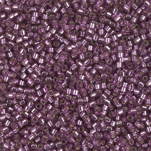 DB2169 Miyuki Delica Bead, DURACOAT S/L DYED LILAC 11/0