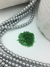 DB0046 Miyuki Delica Seed Beads, 11/0 Size, Silver Lined Light Green