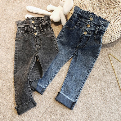 High Rise Kids Jeans