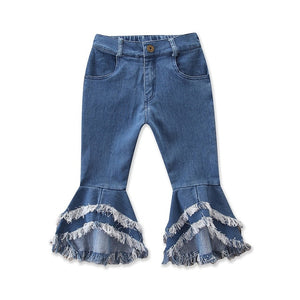 """ Sassy Baby"" Flare Children Jeans - iuwefit"