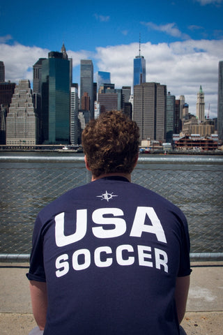USA Soccer T-Shirt / Navy