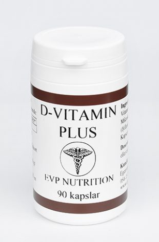 D-Vitamin Plus 170 mcg 90 kapslar
