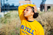 Load image into Gallery viewer, Bstill University Gold Sweatshirt