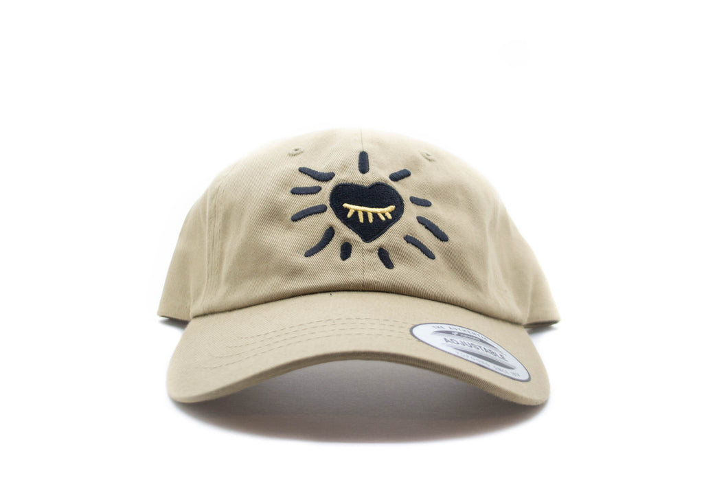 Boundless Hat (Khaki/Black/Gold)