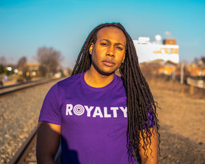 Royalty Tee (purple)
