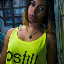 Load image into Gallery viewer, Bstill Crop top (neon yellow)
