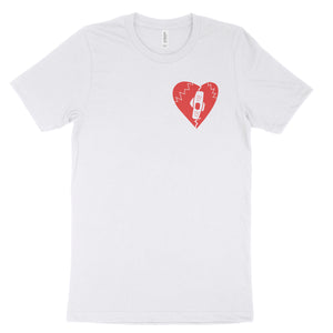 Broken Heart Tee - bstill clothing