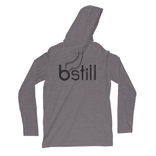 Bstill Heather Gray Hoodie - bstill clothing