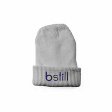 Load image into Gallery viewer, Bstill Heather Grey Beanie - bstill clothing