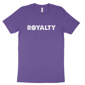 Royalty Tee (purple) - bstill clothing