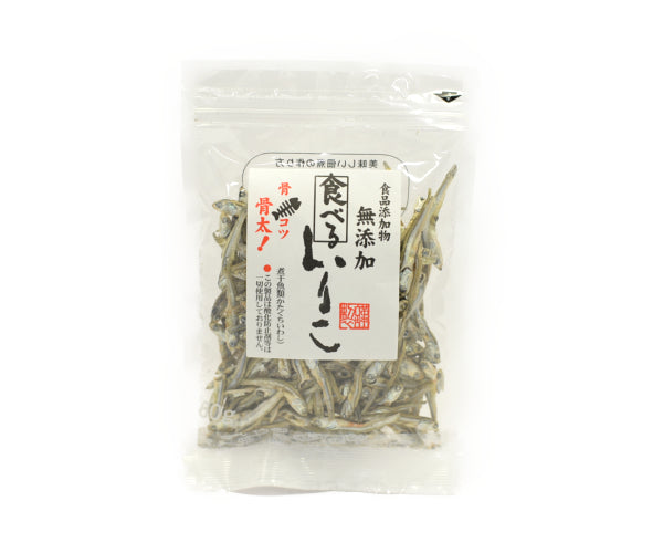 シーガル 無添加食べるいりこ 60g<br>SEAGULL ADDITIVE-FREE DRIED SARDINE 60G