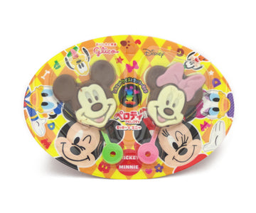 グリコ ペロティ ミッキー&ミニー 2pieces<br>GLICO Peroti Mickey & Minnie 2pieces