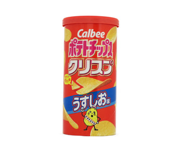CALBEE POTATOCHIPSSRISP LIGHT SALT FLAVOR 50g