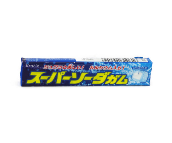 クラシエ スーパーソーダガム 5pieces<br>CRACIE SUPER SODA GUM 5pieces